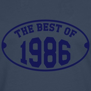 The Best of 1986 T-shirts - Mannen Premium shirt met lange mouwen