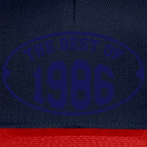 The Best of 1986 Magliette - Snapback Cap