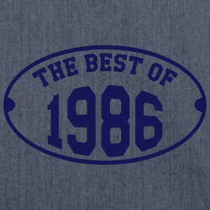The Best of 1986 T-Shirts - Shoulder Bag made from recycled material