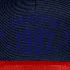 The Best of 1987 T-Shirts - Snapback Cap