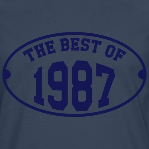 The Best of 1987 T-Shirts - Men's Premium Longsleeve Shirt