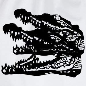 Crocodile T-Shirts - Drawstring Bag