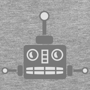 Cool Robot Face T-Shirts - Men's Premium Longsleeve Shirt