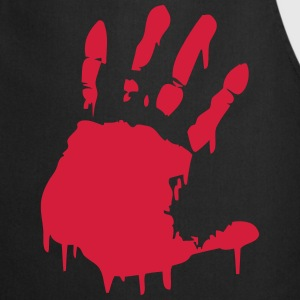 bloody hand T-Shirts - Cooking Apron