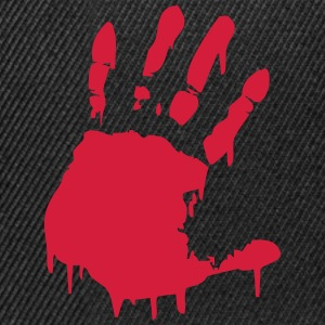 bloody hand T-Shirts - Snapback Cap