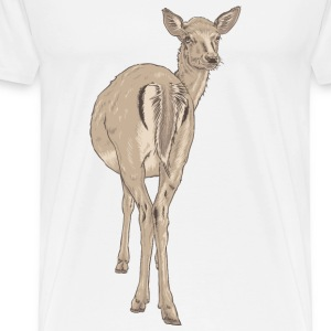 Deer  Bags & backpacks - Men's Premium T-Shirt