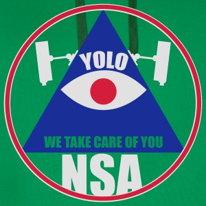 NSA - We take care of you T-Shirts - Männer Premium Hoodie