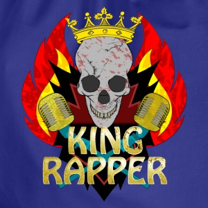 King Rapper T-shirts - Sportstaske