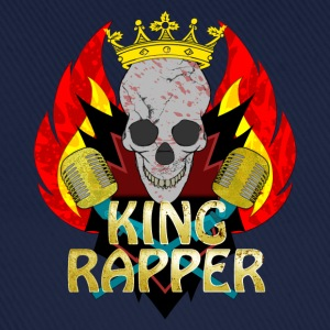 King Rapper Shirts - Baseballcap