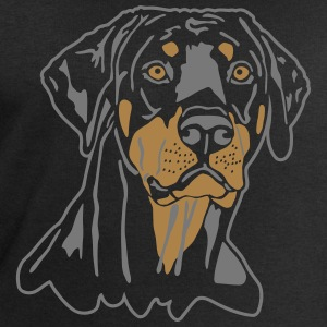 Dobermann Pinscher Black Head T-Shirts - Men's Sweatshirt by Stanley & Stella