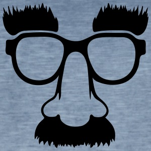 Groucho mask - nerd glasses Sweaters - Mannen Vintage T-shirt