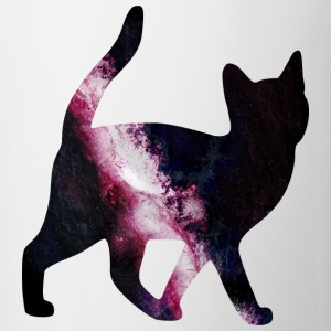 space cat utrymme katt T-shirts - Mugg