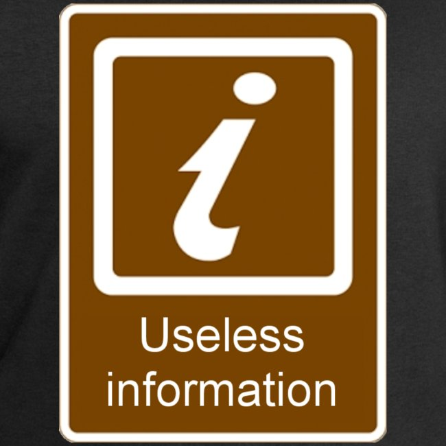 Useless Information