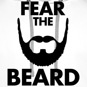 Fear The Beard T-Shirts - Men's Premium Hoodie