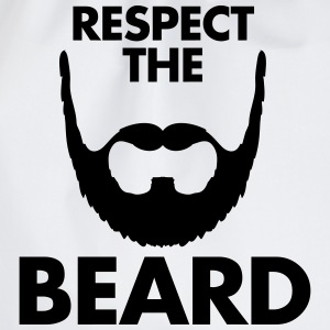 Respect The Beard T-Shirts - Turnbeutel