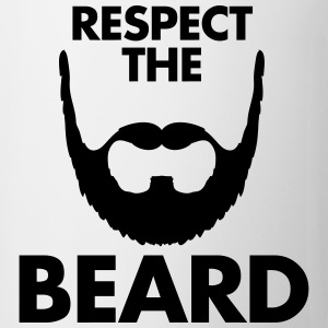 Respect The Beard Koszulki - Kubek