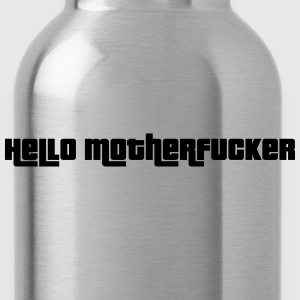 Hello Motherfucker T-shirts - Vattenflaska