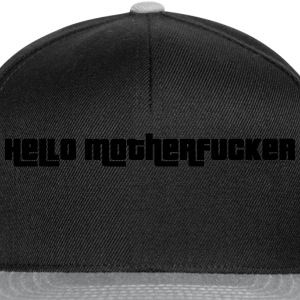 Hello Motherfucker T-Shirts - Snapback Cap