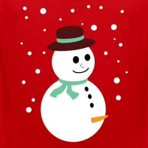 Naughty snowman T-Shirts - Men's Premium Tank Top