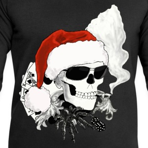 skull XMAS T-Shirts - Men's Sweatshirt by Stanley & Stella