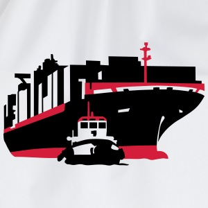 containerschiff T-Shirts - Turnbeutel