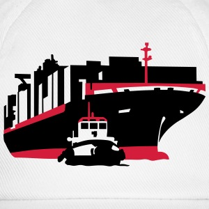 container ship T-shirts - Basebollkeps