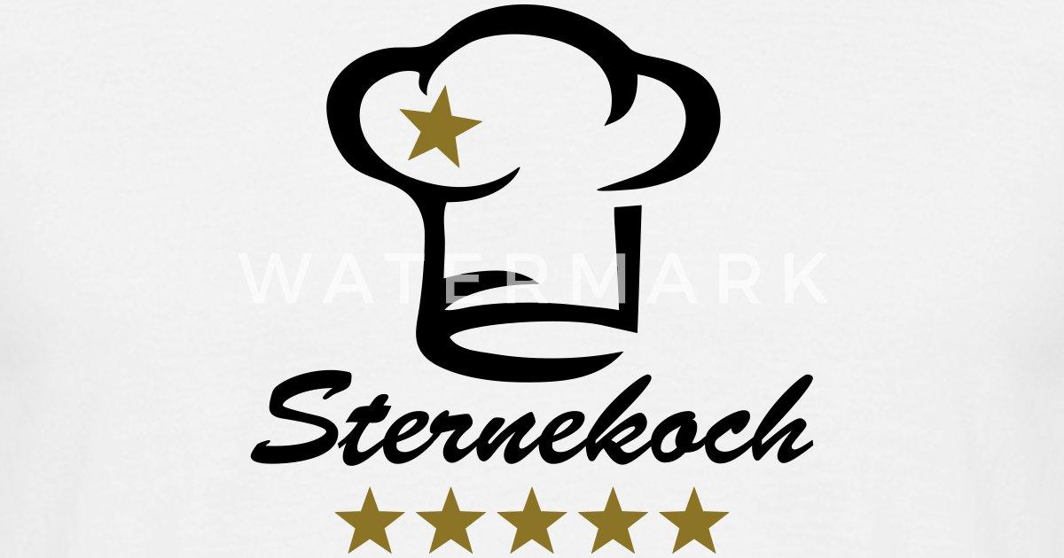 Koch 5 sterne sternekoch chefkoch geburtstag t shirt for Koch 5 sterne