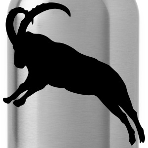 jumping Capricorn  T-Shirts - Water Bottle
