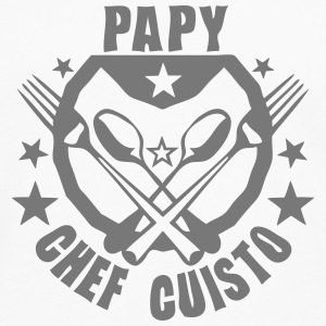 papy super cuisto logo fourchette cuille Sweat-shirts - T-shirt manches longues Premium Homme