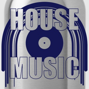 House Music Magliette - Borraccia