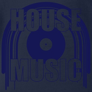 House Music Tee shirts - Body bébé bio manches courtes
