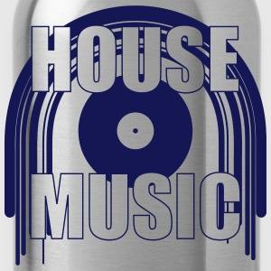 House Music T-Shirts - Water Bottle