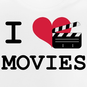 I Love Movies Tee shirts - T-shirt Bébé