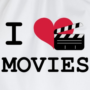 I Love Movies T-shirts - Gymtas