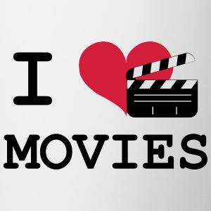 I Love Movies T-shirts - Mok