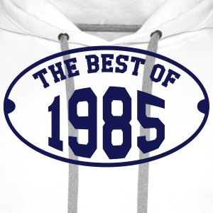 The Best of 1985 T-Shirts - Men's Premium Hoodie