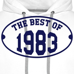 The Best of 1983 T-Shirts - Men's Premium Hoodie