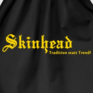 Skinhead Tradition statt Trend! T-Shirts - Turnbeutel