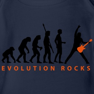 evolution_guitar_112013_c_2c T-Shirts - Baby Bio-Kurzarm-Body
