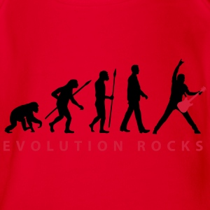 evolution_guitar_112013_d_2c T-Shirts - Baby Bio-Kurzarm-Body