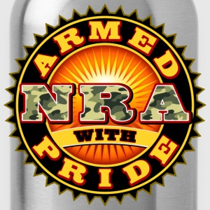 NRA - National Rifle Association T-Shirts - Trinkflasche