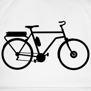 electric bicycle_b1 T-Shirts - Baseball Cap