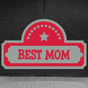 Best Mom T-Shirts - Snapback Cap