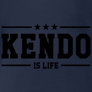 Kendo is life ! Shirts - Organic Short-sleeved Baby Bodysuit