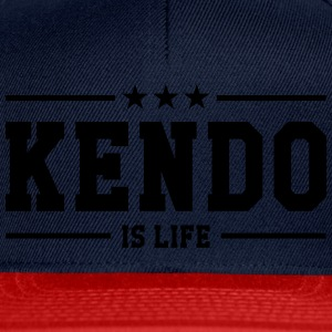 Kendo is life ! T-shirts - Snapback Cap