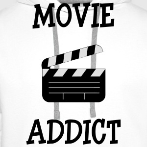 Movie Addict T-shirts - Herre Premium hættetrøje
