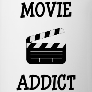 Movie Addict Magliette - Tazza