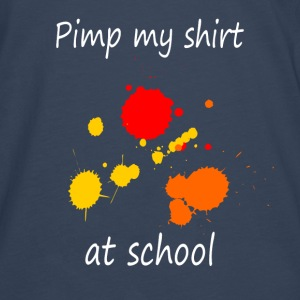 Pimp my shirt at school Skjorter - Premium langermet T-skjorte for menn