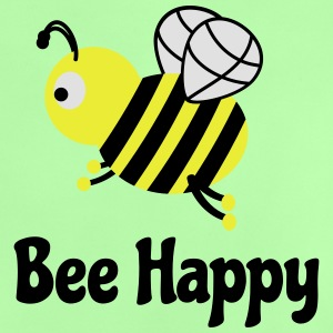 bee happy cute bee bee glad söt bee T-shirts - Baby-T-shirt