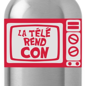 la tele rend con expression tv Sweat-shirts - Gourde